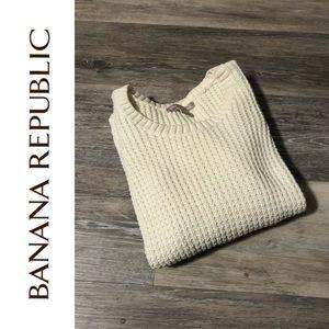 EUC Banana Republic Cashmere Mix Sweater